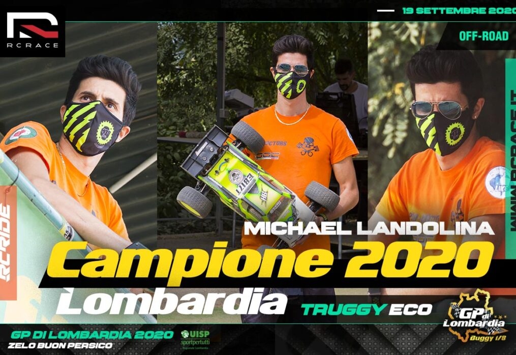 MICHAEL LANDOLINA CAMPIONE NELLA TRUGGY ECO