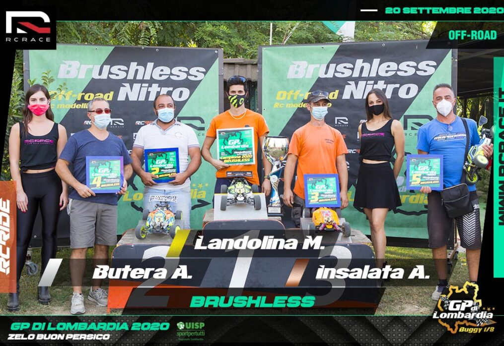 MICHAEL LANDOLINA TRIONFA ANCHE IN BRUSHLESS