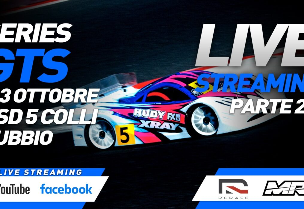 Live dal Club 5 Colli di Gubbio l'edizione 2021 della GTS Series